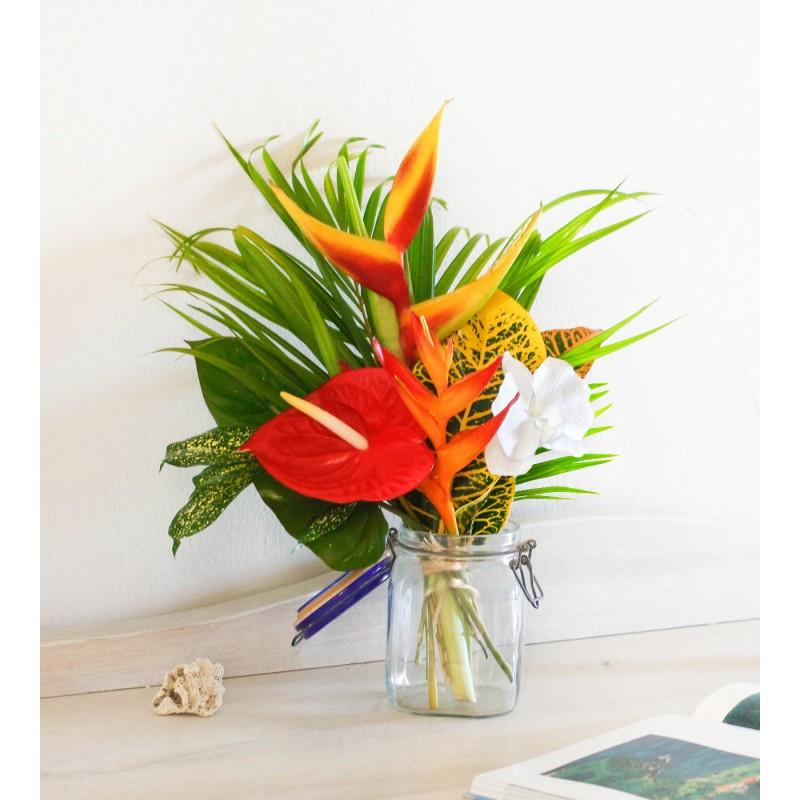 livraison bouquet fleurs perroquet fleurs lointaines. Black Bedroom Furniture Sets. Home Design Ideas