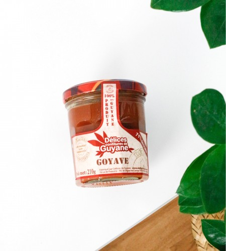 livraison confiture de goyave 210g guyane fleurs lointaines. Black Bedroom Furniture Sets. Home Design Ideas