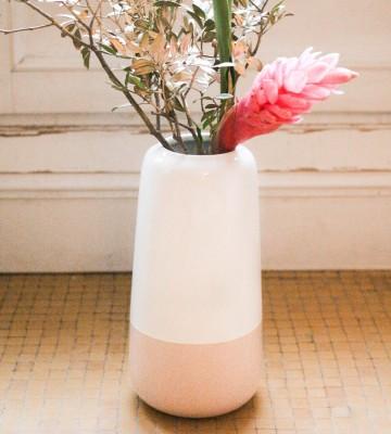 Vase Bicolore Rose
