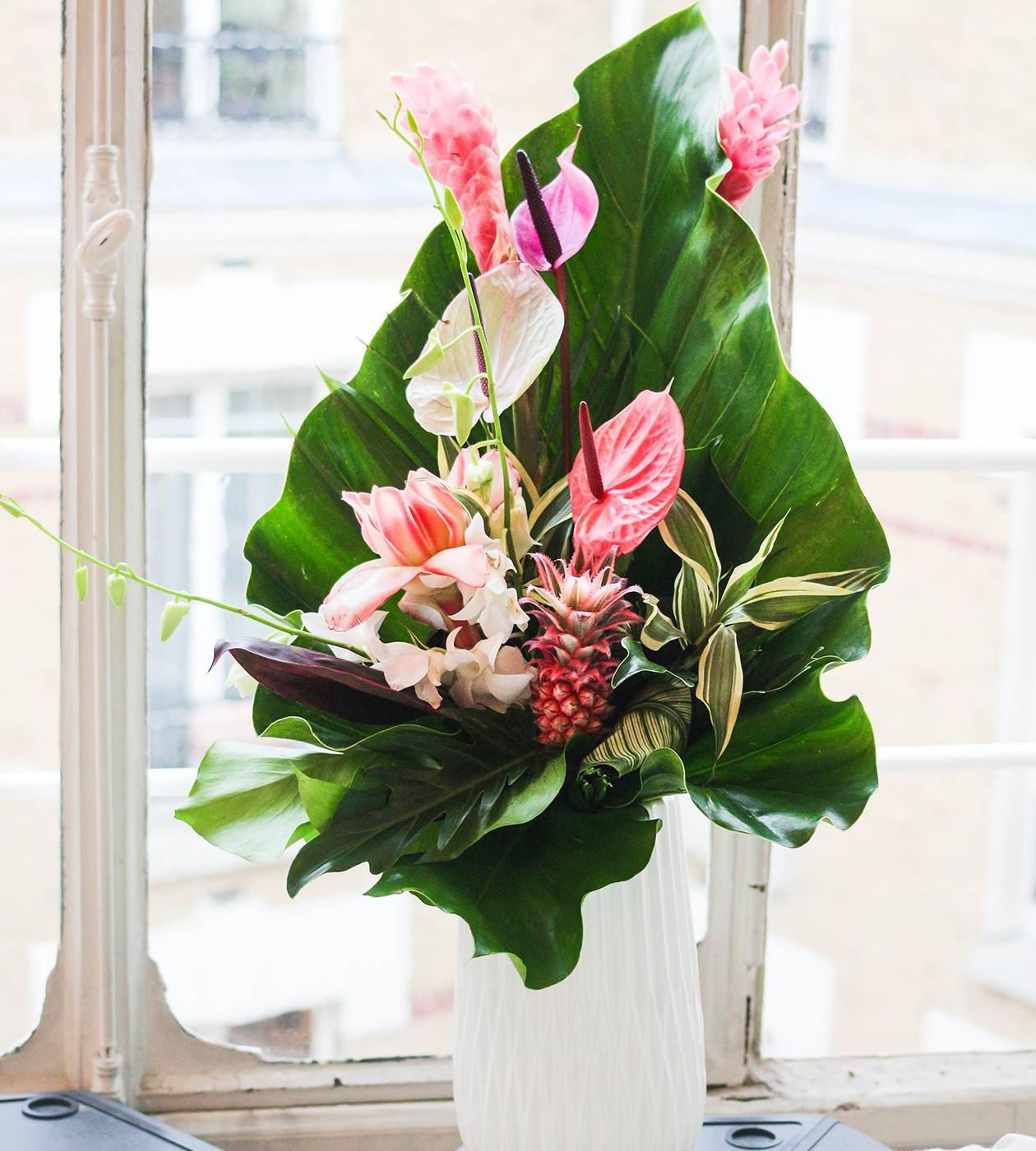 bouquets de fleurs exotiques chics et atypiques