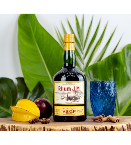 Rhum vieux JM Martinique VSOP 70 cl