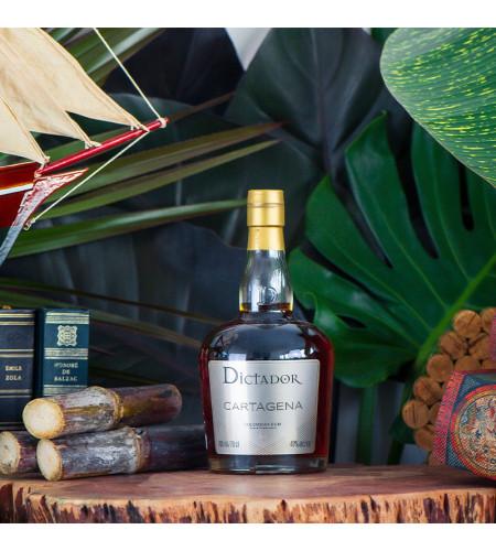 Rhum vieux Cartagena 40° · 70 cl