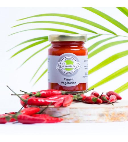 Condiment Piment Végétarien 115g · Les Saveurs de Z'ia